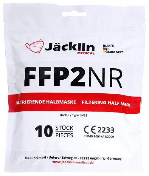 Verpackungsbeutel Jäcklin Medical FFP2 Masken